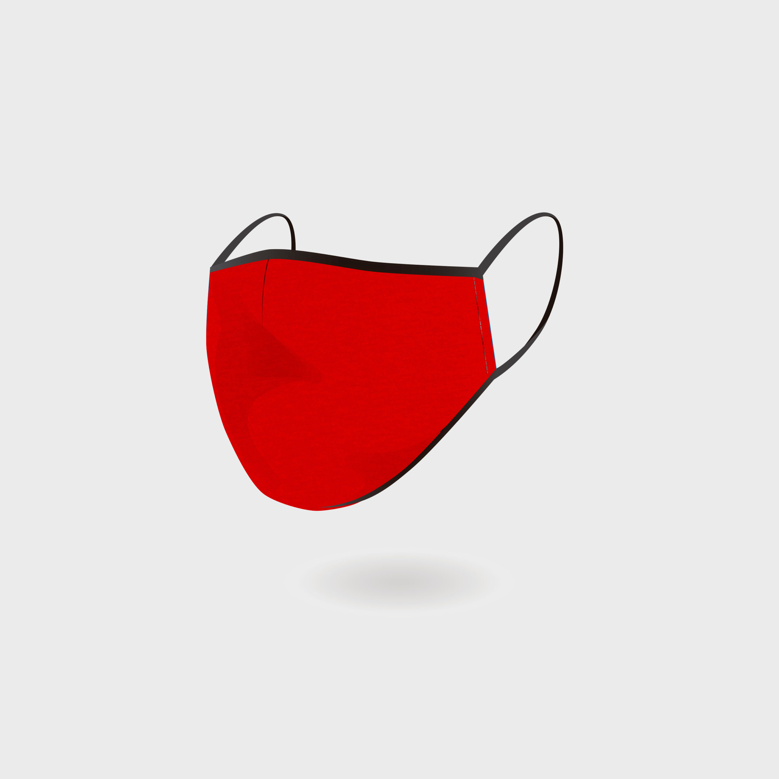 KIDS MASK RED